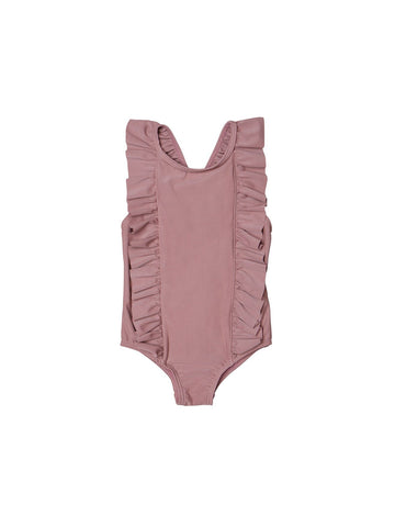 Huxbaby Berry Frill Swimsuit | Berry