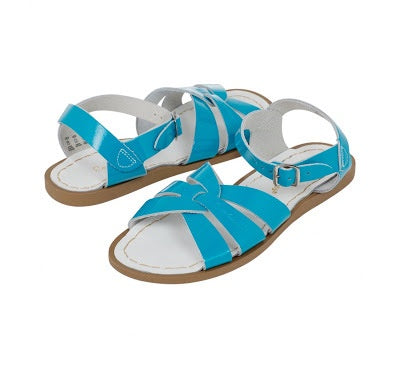 Salt Water Sandals Kids | Shiny Turquoise