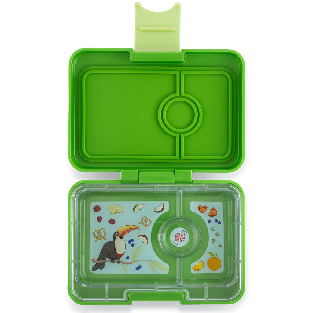 Yumbox Snack Box Cilantro Green