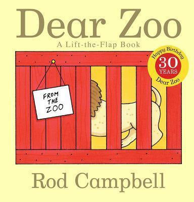 Dear Zoo Board Book