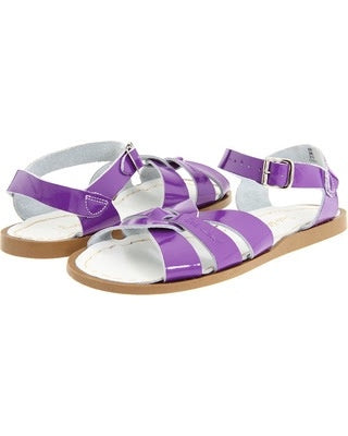 Salt Water Sandals Kids | Shiny Purple