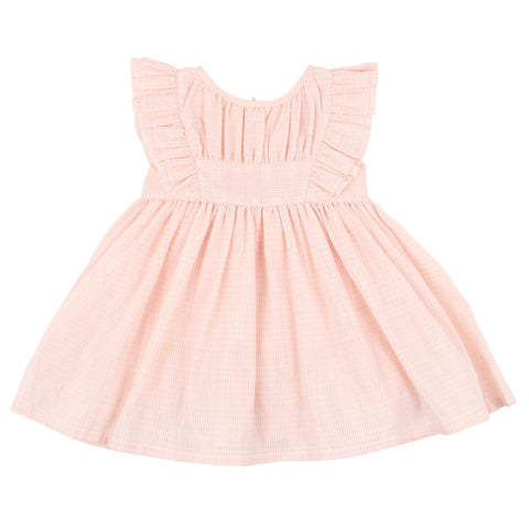 Bebe Iris Lurex Stripe Dress | Pink