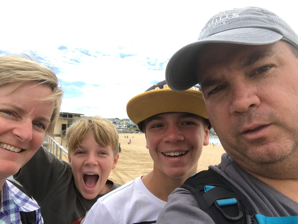 A family day out in Sydney for under $100  selfie