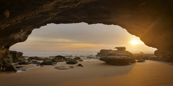 Eye of morning, Caves Beach Australia