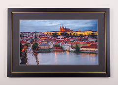 The Twilight Castle Prague - Limited Edition Fine Art Print