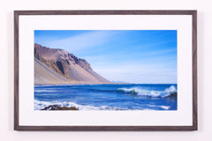 Surf to the Mountains, Iceland - Open Edition Fine Art Print
