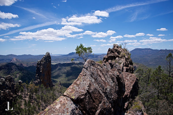 The Breadknife in the Warrumbungle National Park