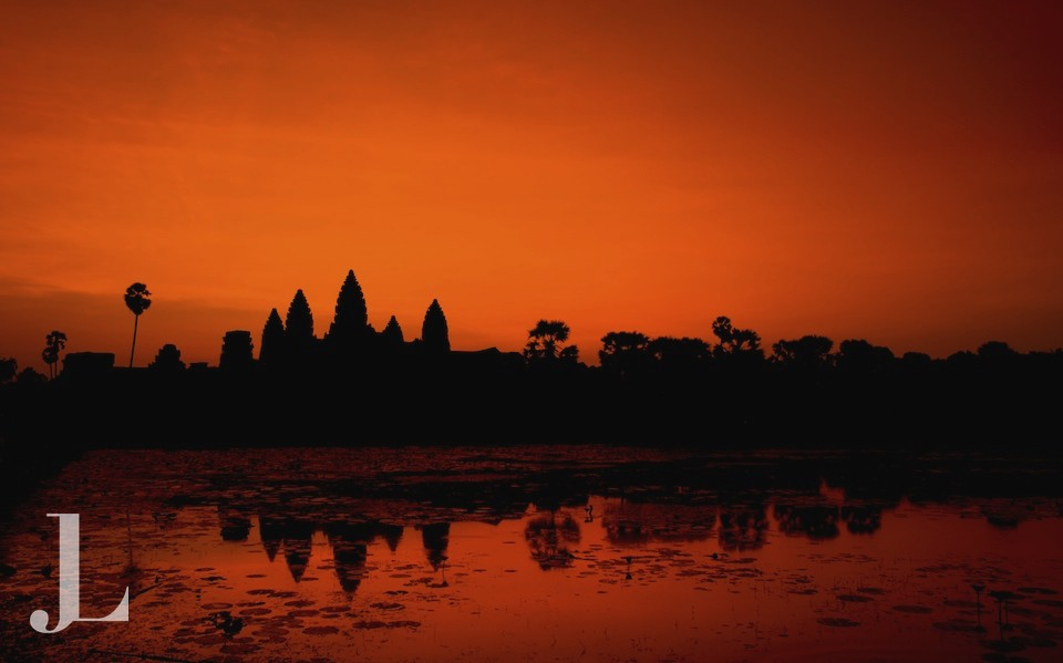 Angkor Wat Sunrise, no further explanation needed.