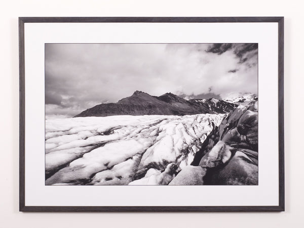 Glacial contrast, fine art print limited edition travel photography