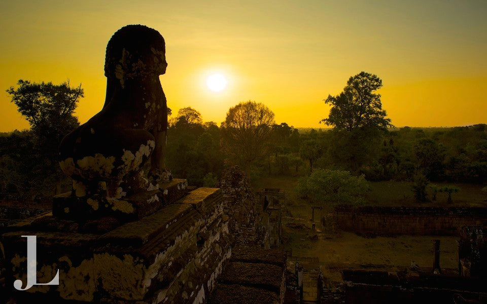 Sunset over Pre Rup, Siem Reap Angkor Cambodia