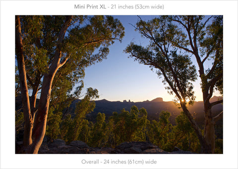 Warrumbungle Sun Star- Mini Print XL