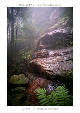 Witches Shroud, Katoomba Blue Mountains Australia - Mini Print XL