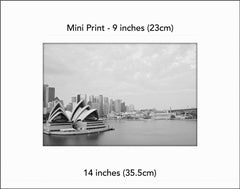 Sydney's Reception- Mini Print