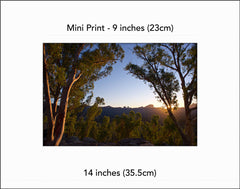 Warrumbungle Sun Star- Mini Print