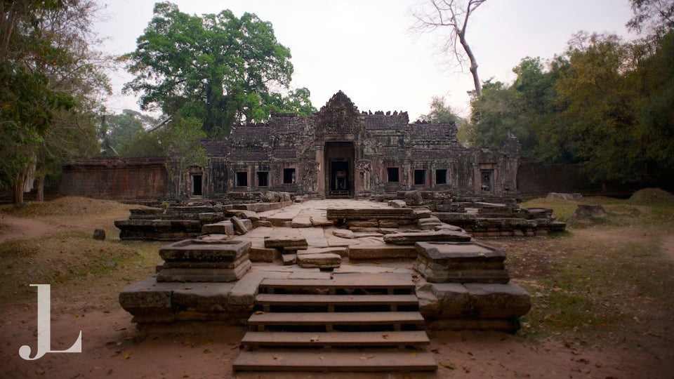 The Temples of Angkor Cambodia