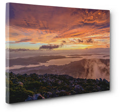 Print of the Week - Heaven on Earth, Sunrise kunanyi / Mount Wellington Hobart Tasmania Australia