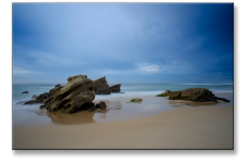 Print of the Week - Serene Stones Redhead Beach NSW Australia