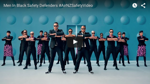Air New Zealand Safety Videos