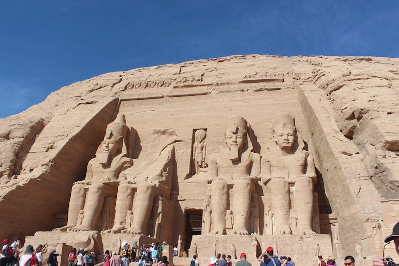 Exploring the Ancient world of Egypt Abu Simbel Temples
