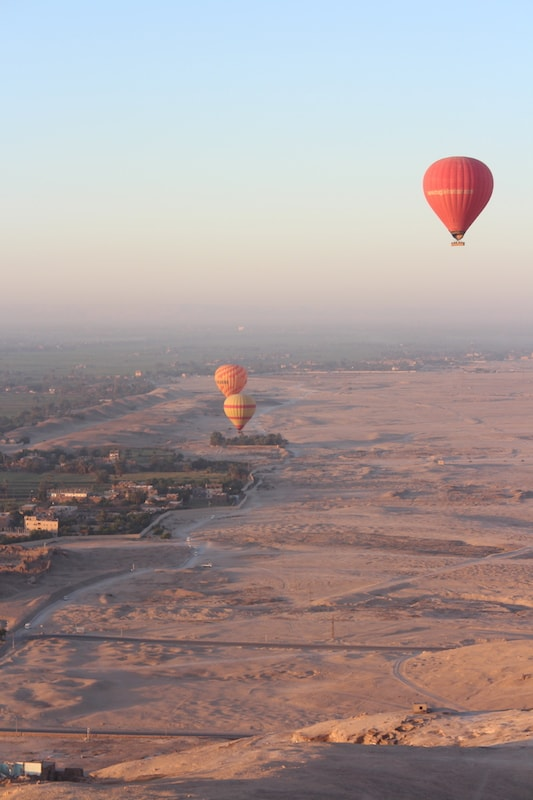 Exploring the Ancient world of Egypt Ballooning in Luxor