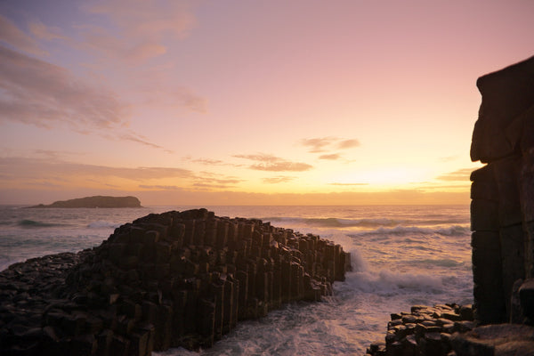 images_of_landscape_Australia_Northern_NSW_Coast_Sunrise_Fingal_Head_Giants_Causeway