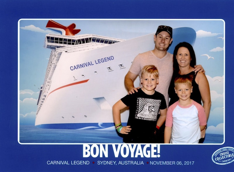In the South Pacific to New Caledonia with Carnival Boarding