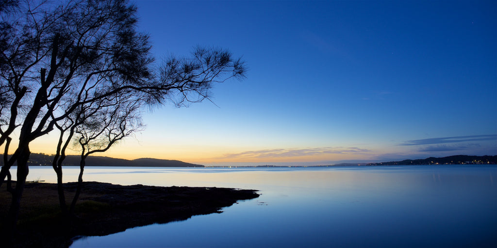Bolton Dawn - Bolton Point, Lake Macquarie Australia Landscape Print