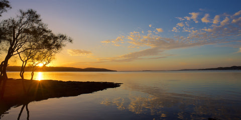 Bolton Sunrise - Bolton Point, Lake Macquarie Australia Landscape Print