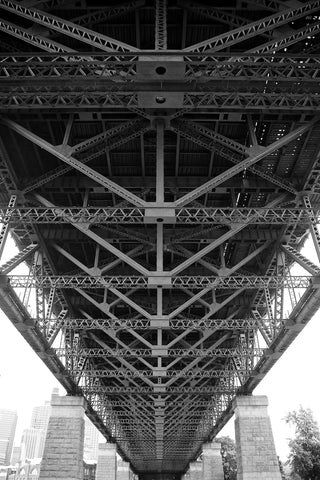 Bridge's Skeleton - Sydney Harbour Bridge Sydney NSW Australia Landscape Print
