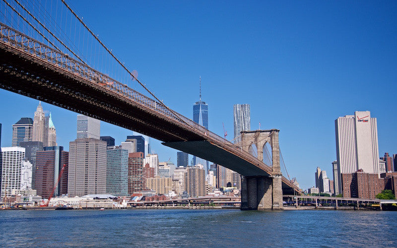 Bridge of Freedom - Brooklyn New York City USA Landscape Print