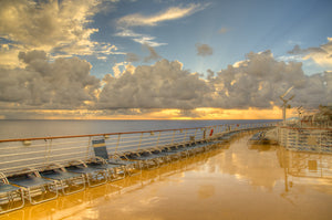 Golden Deck - Oasis of the Seas Caribbean Landscape Print