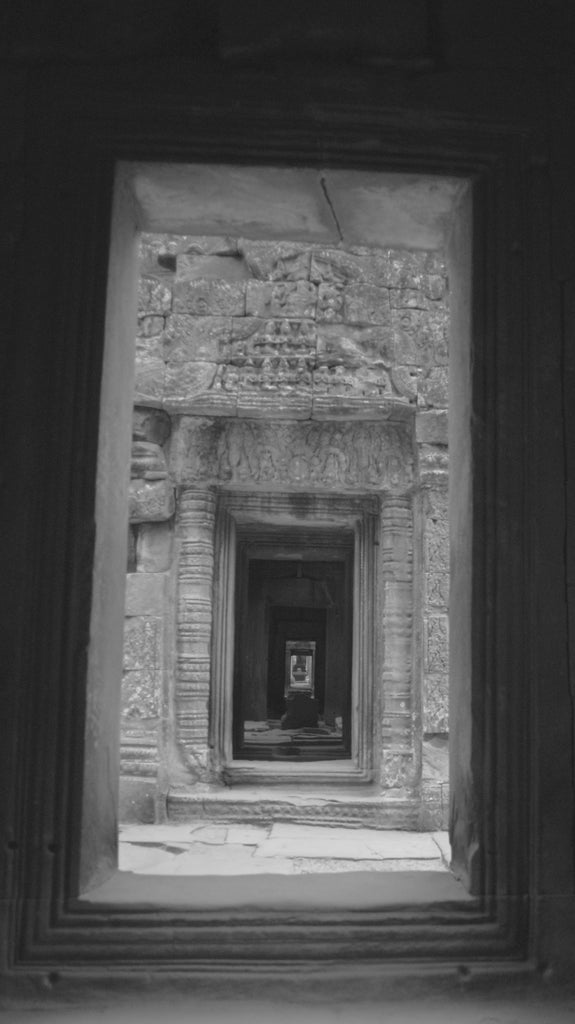 Doors of Time - Siem Reap Cambodia Landscape Print