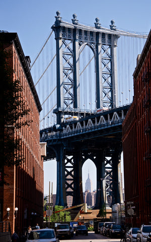 Dumbo Downunder - Brooklyn NYC USA Landscape Print