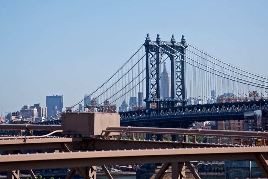 Dumbo Up Top - Brooklyn NYC USA Landscape Print