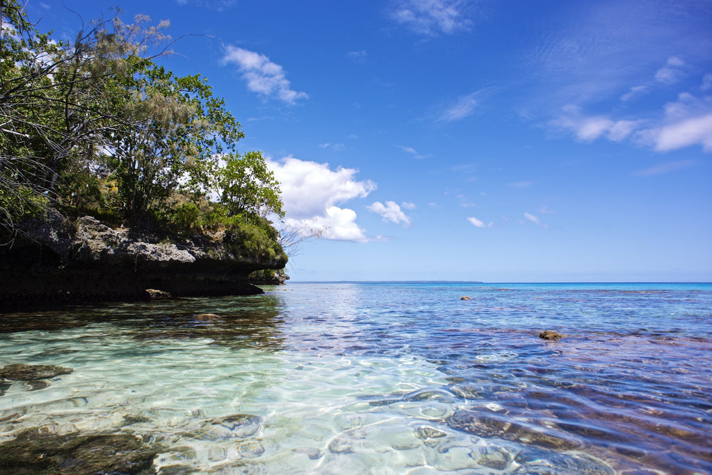 Reef and Sky - Lifou Loyalty Islands New Caledonia Landscape Print