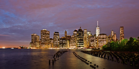 Manhattan under Lights, NYC USA - Limited Edition Fine Art Print