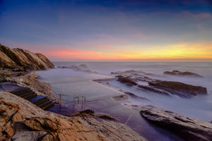 Blue Pool Sunrise - Bermagui NSW Australia