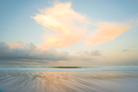 Morning Wave - Double Six Beach Bali Landscape Print