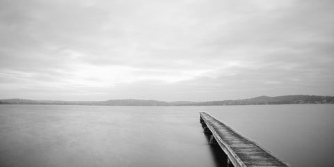 The Jetty - Marmong Point, Lake Macquarie Australia Landscape Print