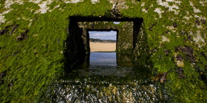 Through the Outlet, Normandy France - Art on Glass Limited Edition