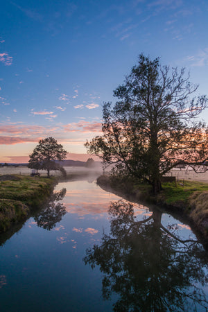Pastel Reflection - Hunter Valley NSW Australia Landscape Print