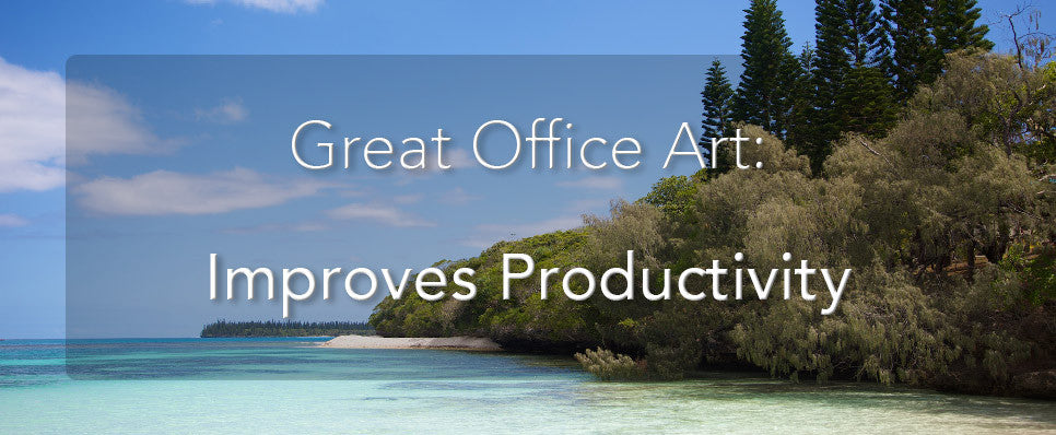 John Lechner Art | The Office Art Specialists Office Art Improves Productivity