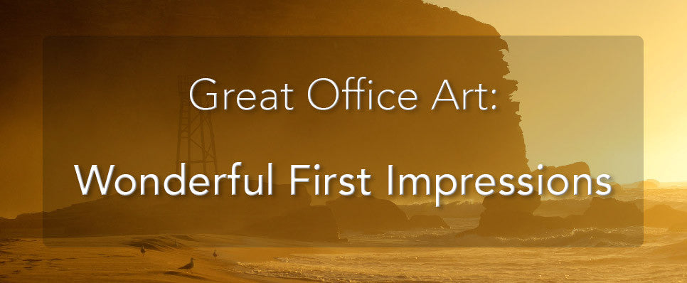 John Lechner Art | The Office Art Specialists Office Art Wonderful First Impressions