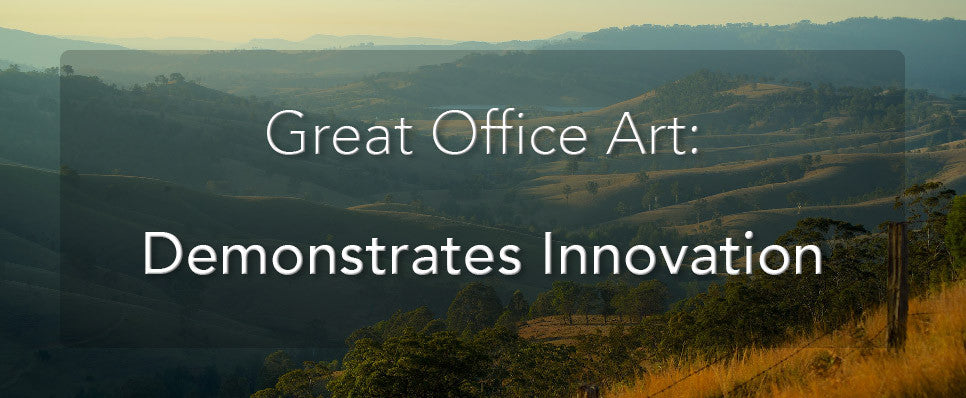 John Lechner Art | The Office Art Specialists Office Art Demonstrates Innovation