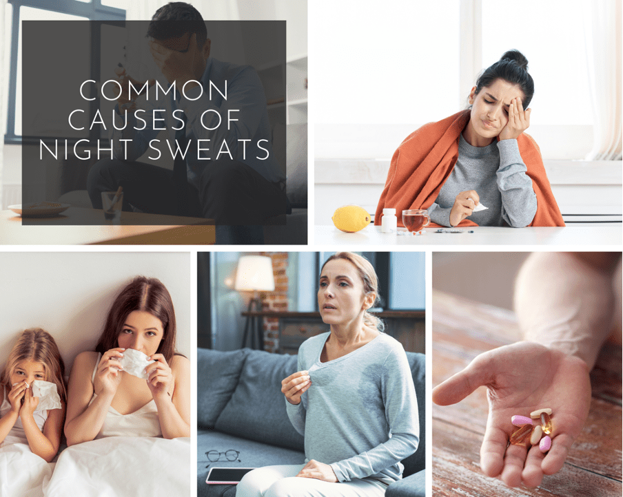Understanding Night Sweats in Children and Adults