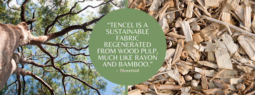 Tencel is better for the environment than cotton and linen
