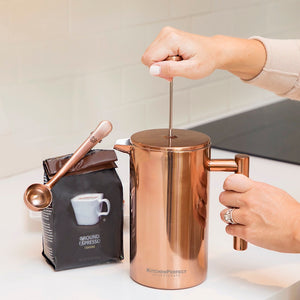 The KitchenPerfect Copper French Press