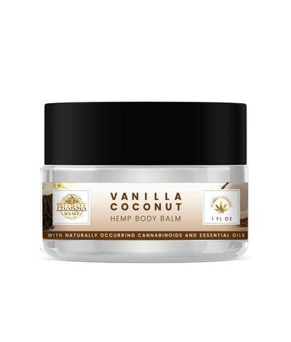 Vanilla Coconut Body Balm 150mg CBD