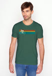 Greenbomb Herren T-Shirt Fahrrad Speed