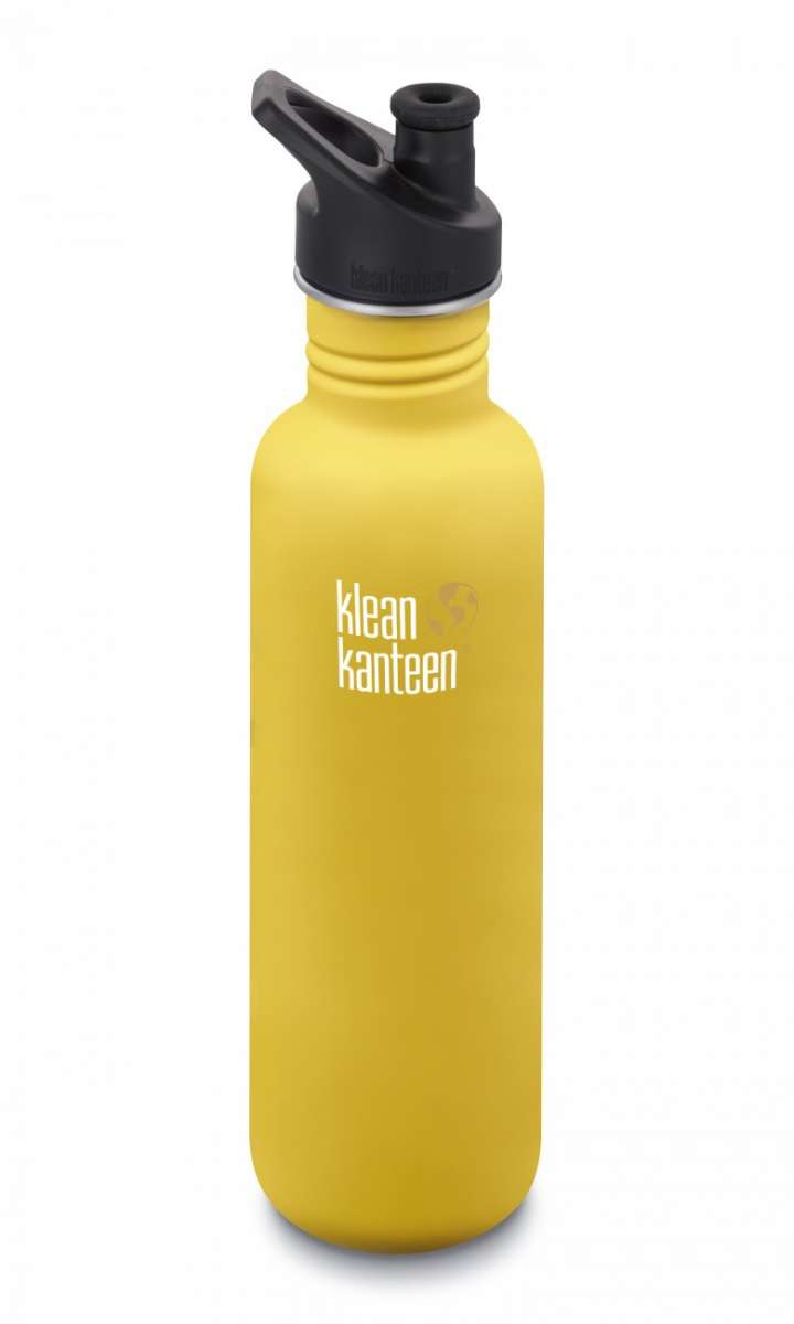 Klean kanteen 800ml Lemon Curry matt Sport Cup